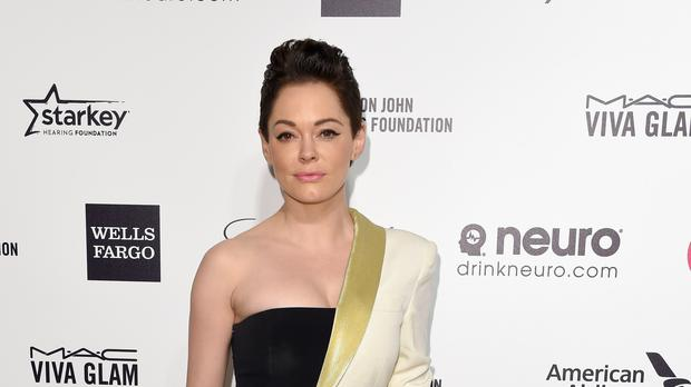 Hollywood actress Rose McGowan will receive the Inspiration Award at the GQ Men Of The Year Awards next month (PA)