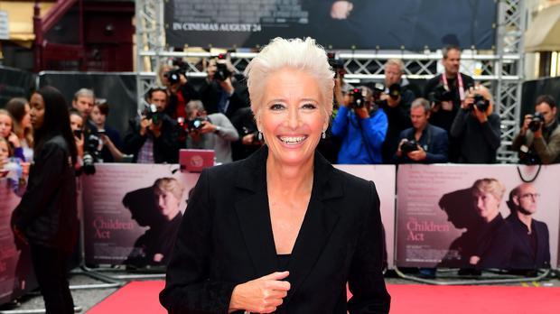 Emma Thompson attending the Children Act Premiere, London (Ian West/PA)
