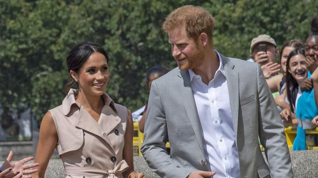 Harry and Meghan invited the Clooneys to the royal wedding in May (Arthur Edwards/The Sun/PA)