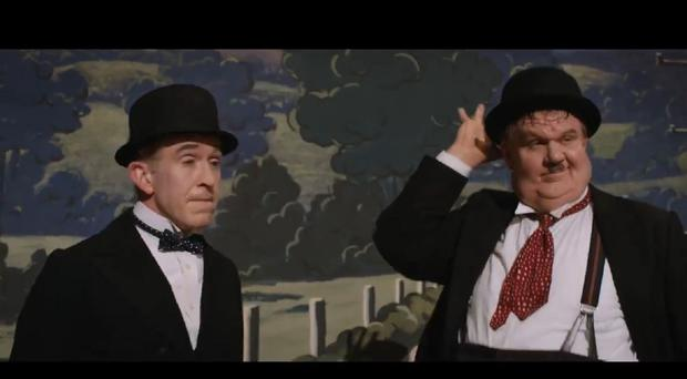 Steve Coogan and John C Reilly as Laurel and Hardy (EOne)