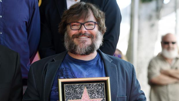 Trumps Budget Takes Aim At My Sweet Son >> Jack Black Takes Aim At Donald Trump As He Receives Star On