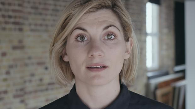 Jodie Whittaker in the Crisis video (Crisis)