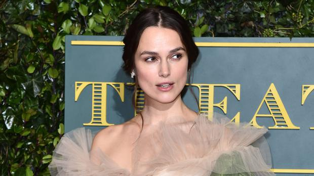 Keira Knightley talked about the difficulties of navigating fame as a woman (Matt Crossick/PA)