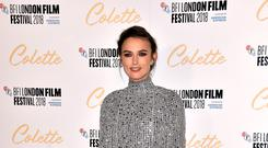 Keira Knightley has said she 'absolutely did not shame anybody with her essay about childbirth (Matt Crossick/PA)