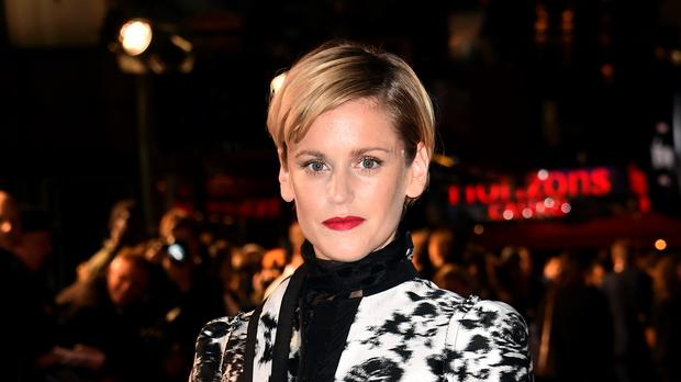 Denise Gough has said she will not apologise for playing a trans character in her new film but will support people who object to a cis actress playing the role (Matt Crossick/PA)