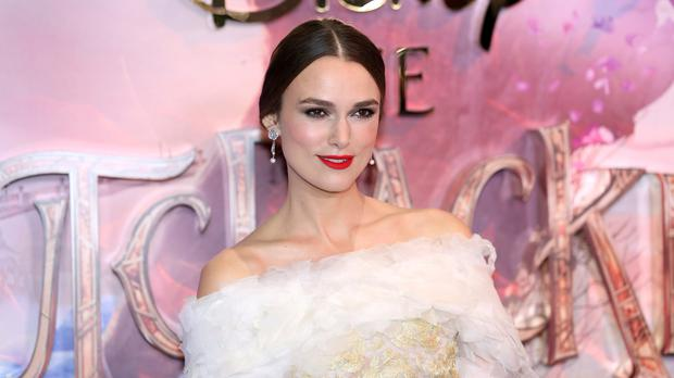 Keira Knightley clarifies decision over her daughter's Disney princess film ban (David Parry/PA)