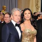Michael Douglas and wife Catherine Zeta-Jones (PA)