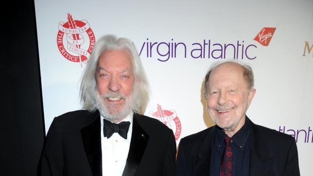Filmmaker Nicolas Roeg a 'fearless visionary', says Donald Sutherland in tribute (Richard Young/REX/Shutterstock)