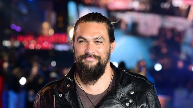 Jason Momoa stars in Aquaman, which is directed by James Wan (Ian West/PA)