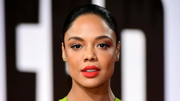 Tessa Thompson attending the European premiere of Creed 2 in London (Ian West/PA)