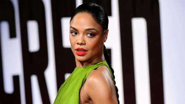 Tessa Thompson at the Creed II European Premiere in London (PA)