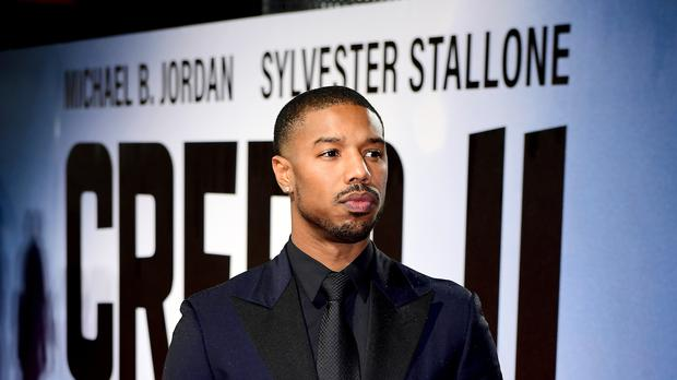 Michael B Jordan attending the European premiere of Creed 2 held at the BFI Imax, Waterloo (Ian West/PA)