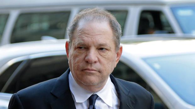 Harvey Weinstein said he has had a 'hell of a year', in an email leaked to the US media (Seth Wenig/AP)