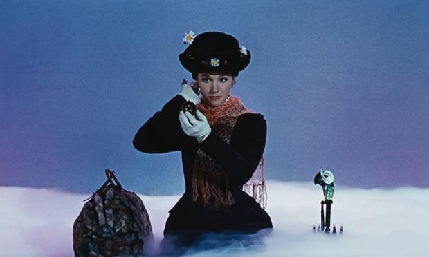 Julie Andrews as the original Mary Poppins