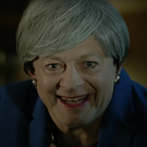 Actor Andy Serkis has put in a terrifying turn as Prime Minister Theresa May (Credit: We Wants It /Facebook/PA)