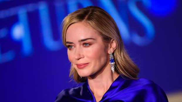 Emily Blunt at the European premiere of Mary Poppins Returns (Matt Crossick/PA)