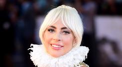Lady Gaga said she was 'honoured' after picked up two Screen Actors Guild Awards nods (Ian West/PA)