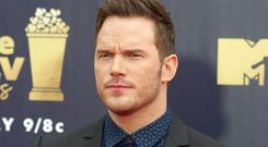 Chris Pratt wished Katherine Schwarzenegger happy birthday with an Instagram post confirming their relationship (Francis Specker/PA)