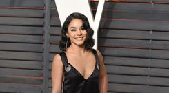 High School Musical star Vanessa Hudgens said she was feeling 'focused and loved' (PA)