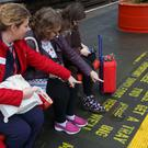 The text stretches more than 4.5 miles across stations between London and Glasgow (Virgin Trains/PA)