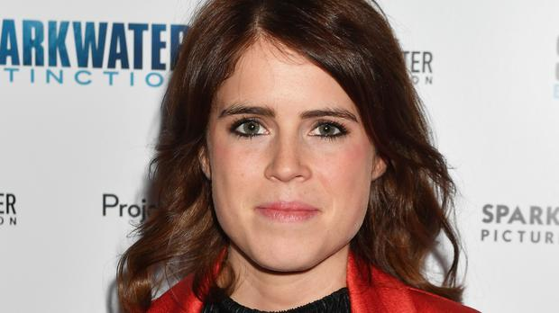 Princess Eugenie arrives for the charity film Premiere of Sharkwater Extinction, at the Curzon Cinema in Soho central London.