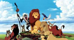 A scene from Walt Disney's 1994 film The Lion King (United Archives/IFTN)