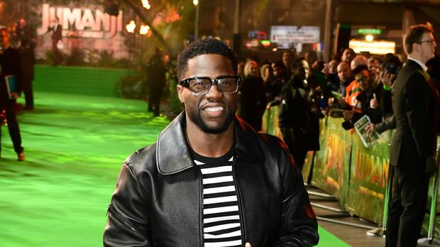 Kevin Hart will appear on The Ellen DeGeneres Show to discuss his doomed hosting of the Oscars (Ian West/PA)