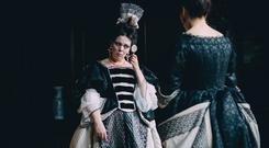 Undated film still handout from The Favourite. Pictured: Olivia Colman as Queen Anne. See PA Feature SHOWBIZ Film Reviews. Picture credit should read: PA Photo/Twentieth Century Fox Film Corporation/Atsushi Nishijima. All Rights Reserved. WARNING: This picture must only be used to accompany PA Feature SHOWBIZ Film Reviews.