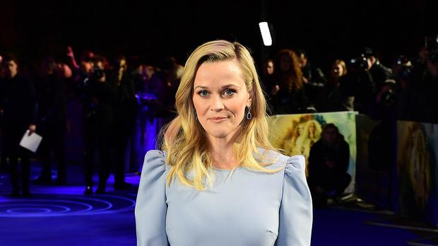 Reese Witherspoon grew 'sick' of being the only female lead on a film set (Ian West/PA)