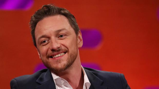 James McAvoy plays Kevin Wendell Crumb, who has more than 20 personalities (Isabel Infantes/PA)
