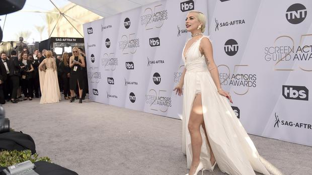 00c5e8a36c Lady Gaga arrives at the 25th annual Screen Actors Guild Awards at the  Shrine Auditorium and