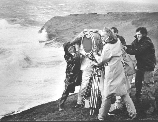 Eye of the storm: David Lean and crew on the set of Ryan's Daughter in Dunquin