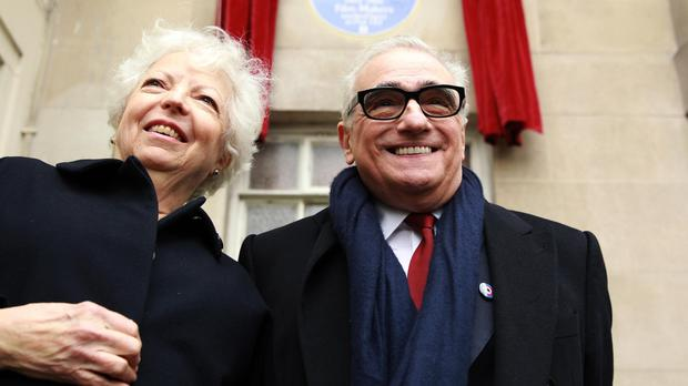 Thelma Schoonmaker and Martin Scorsese (Sean Dempsey/PA)