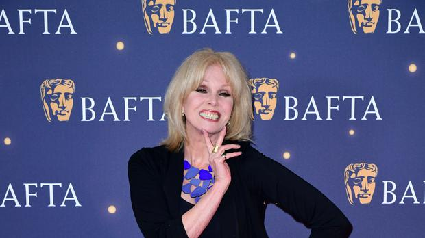 Joanna Lumley hosted the Baftas (Ian West/PA)
