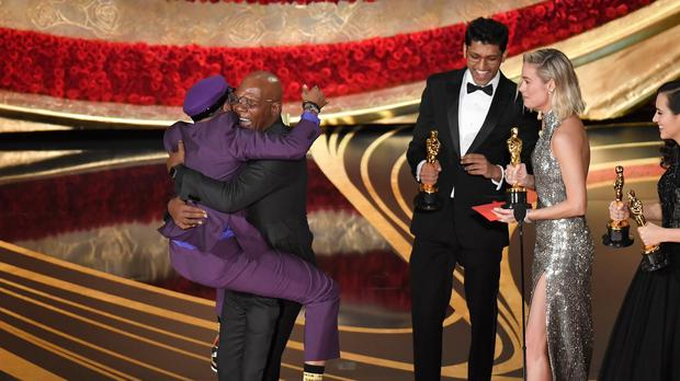 Image result for oscars spike lee samuel jackson
