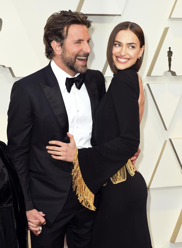 Bradley Cooper and partner Irina Shayk attended the Oscars together (Jordan Strauss/Invision/AP)