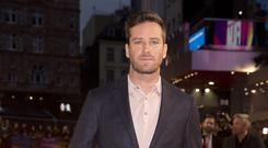 Armie Hammer has addressed the Batman rumours Isabel Infantes/PA)