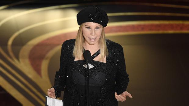 Barbra Streisand came under under intense criticism online (Chris Pizzello/Invision/AP/PA)