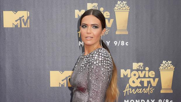 Mandy Moore thanked her younger self as she was honoured with a star on the Hollywood Walk Of Fame (Francis Specker/PA Wire)