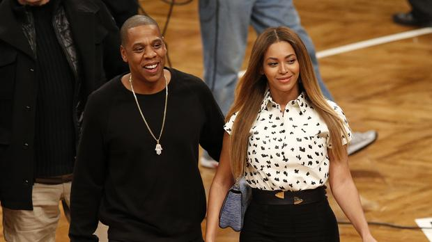 Beyonce and Jay-Z were honoured for their contribution to the LGBT community at the GLAAD Media Awards (Jonathan Brady/PA)