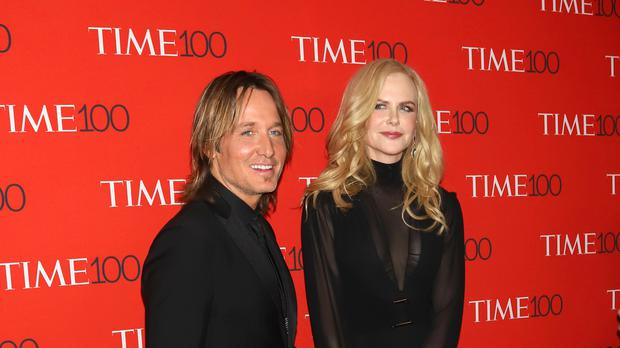 Nicole Kidman and husband Keith Urban (PBG/PA)