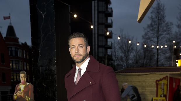 Zachary Levi will host the MTV Awards (Isabel Infantes/PA)