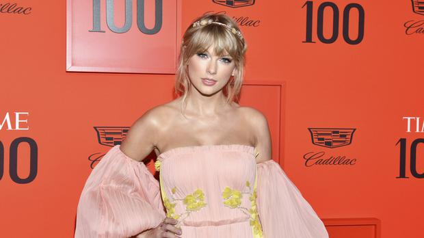 Taylor swift was among the stars pictured at the Time 100 Gala (Charles Sykes/Invision/AP)