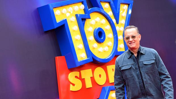 Tom Hanks at the Toy Story 4 premiere in London (Ian West/PA)