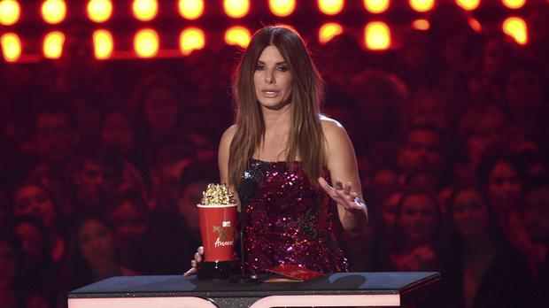 Sandra Bullock was among the winners at the MTV Movie and TV Awards (Chris Pizzello/Invision/AP)