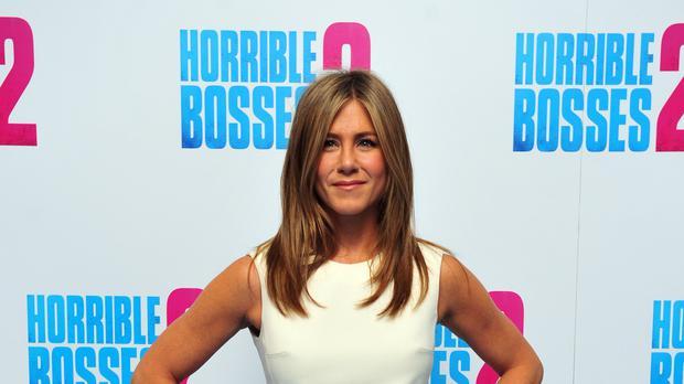 Jennifer Aniston's comedy Murder Mystery is proving popular on Netflix (Nick Ansell/PA)