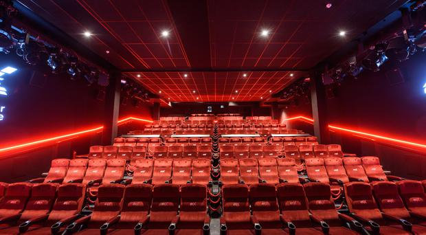 General view of the 4DX screen in the Cineworld Leicester Square cinema in London. Installed as part of a major refurbishment, the cinema features moving seats, rain, snow, fog and scents to to enchance moviegoers' experience. PRESS ASSOCIATION Photo. Picture date: Wednesdayl 18, 2018. Photo credit should read: Matt Crossick/PA Wire