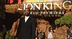 Chiwetel Ejiofor arrives at the world premiere of The Lion King (Chris Pizzello/Invision/AP)