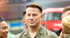 Hollywood actor Channing Tatum has accused a phone of listening in on his therapy sessions (Matt Crossickl/PA)