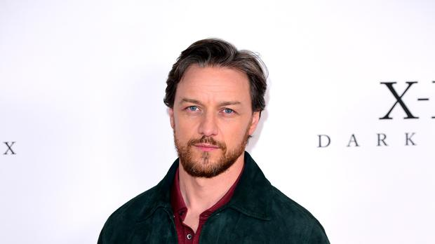 James McAvoy revealed his bad dreams at an event held on the eve of San Diego Comic-Con (Ian West/PA)